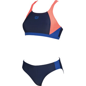 arena Ren Two-Pieces Swimsuit Women navy-shiny pink-royal
